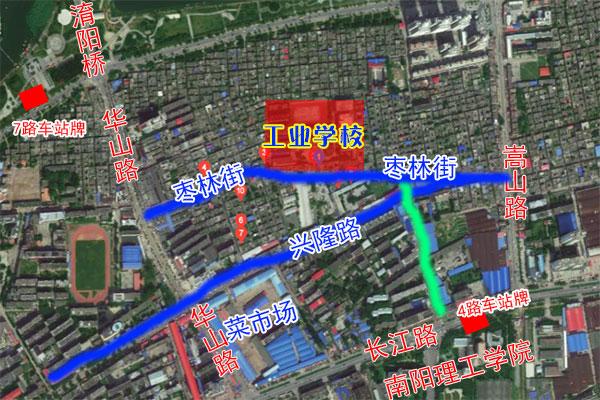 南阳工业校地址怎么走