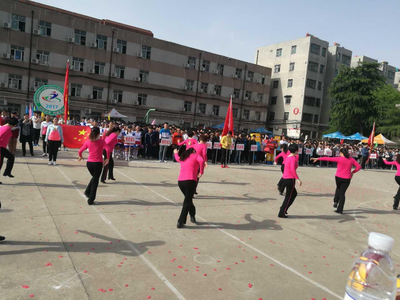 南阳工业学校春期运动会